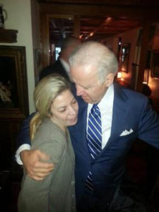 Marybeth and Joe Biden