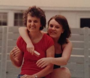 Gretchen Biedl and mom