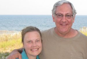 Gretchen Beidl and husband Michael. Foster care