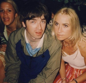 1995 Meg with ex-husband Noel Gallagher