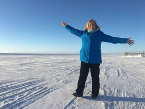 Mary Gibbons in the Tundra