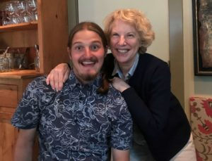 Karen Dubinsky: With my son, Jack